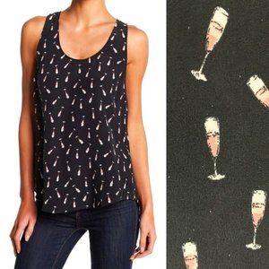 JOIE Rain Champagne top | S | NWT